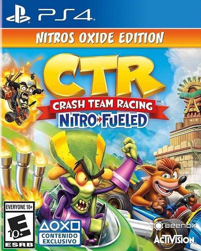 crash team racing nitro fueled ed. nitros oxide primaria ps4