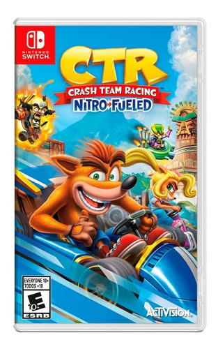 crash team racing nitro fueled nintendo switch 100% original