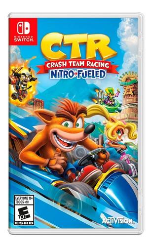 crash team racing nitro fueled nintendo switch / reserva