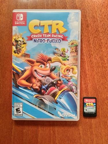 crash team racing nitro fueled para nintendo switch.