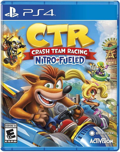 crash team racing nitro fueled playstation