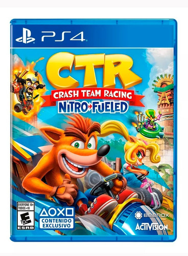 crash team racing nitro fueled ps4 / nuevo-sellado / latam