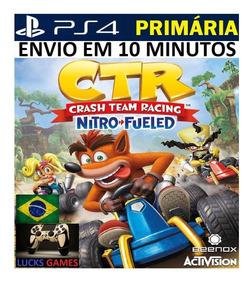 Crash Team Racing Nitro-fueled Ps4 - Original 1 - Dublado