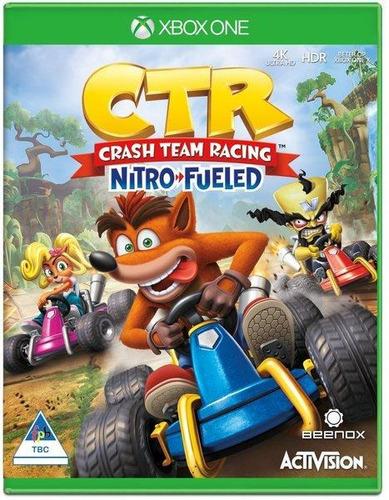 crash team racing nitro fueled!!! xbox one!!!