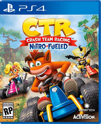 crash team racing nitro refueled fisico nuevo sellado ps4
