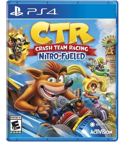 crash team racing playstation 4