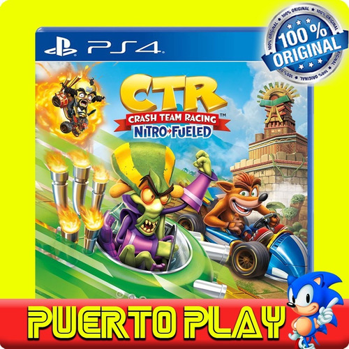 crash team racing ps4 digital / español / envio flash / 1°