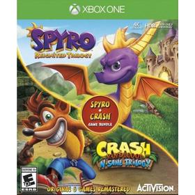 Crash Trilogy + Spyro Trilogy / Xbox One / N0 Codigo / Local