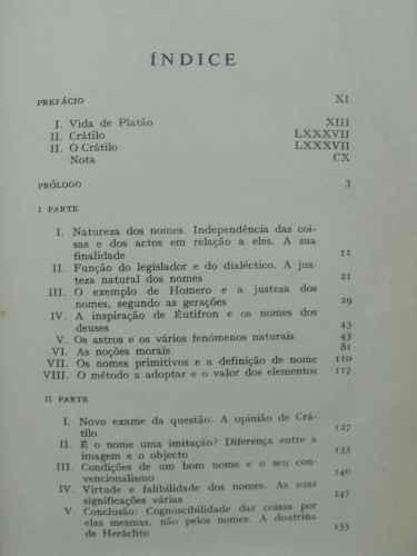 crátilo - versão do grego - platão