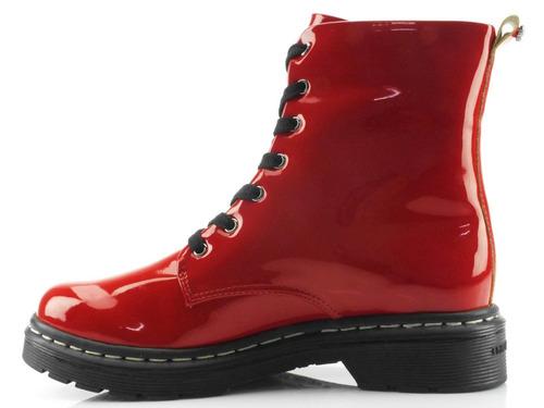 d792cf26869c9 cravo canela bota. Carregando zoom... bota coturno cravo e canela verniz  vermelho 85635
