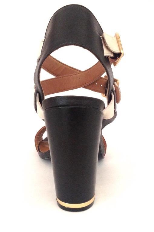 93665dd983 cravo canela sandália · sandália salto grosso cravo   canela 16331