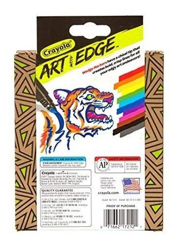 crayola 100 ct supertips/art with edge marker bundle washab
