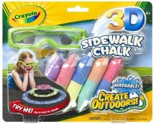 crayola 3-d de la tiza