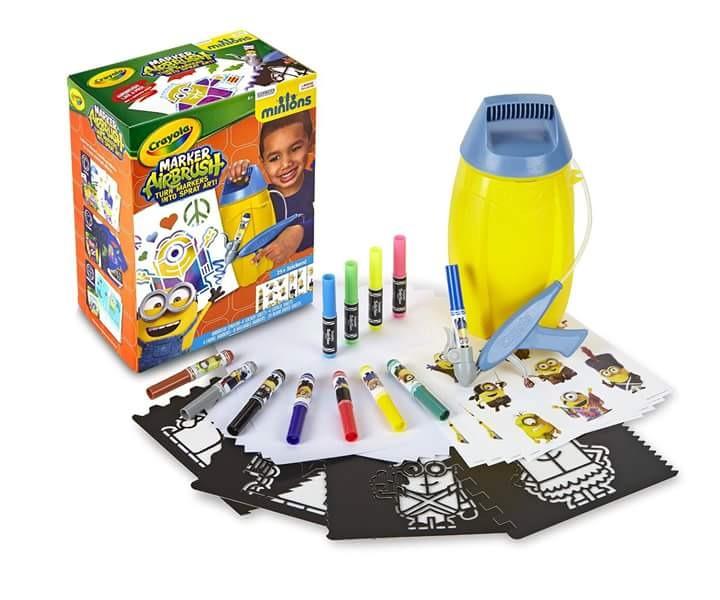 Crayola Aerógrafo Minions Envío Gratis - $ 22.000 en Mercado Libre