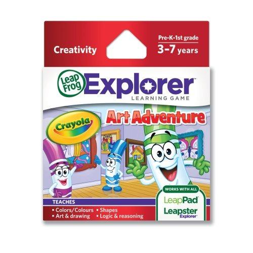 Crayola Art Aventura Juego (funciona Con Tabletas Leappad ...
