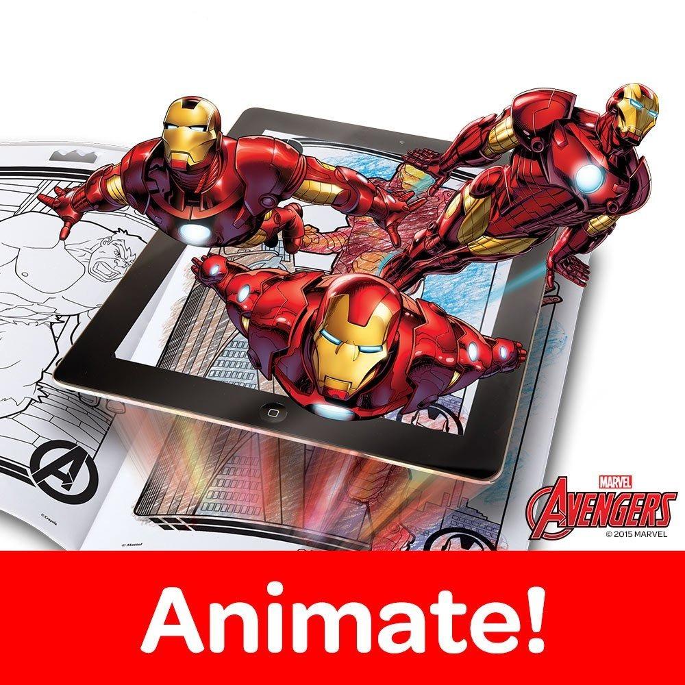 Crayola Avengers Color Alive Action Dibujos Para Colorear - $ 62.999 ...