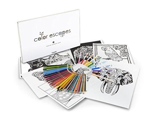 Crayola Color Escapes Para Colorear Y Juegos - $ 89.599 en Mercado Libre