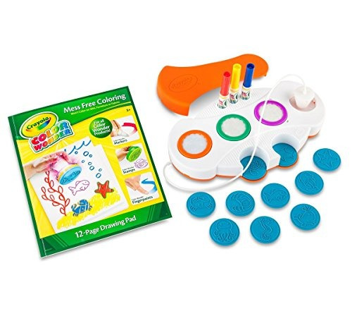 Crayola Color Wonder Mess Estampado Light-up Gratis, Regalo - $ 969 ...