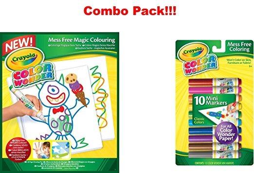 Crayola Color Wonder Papel-30 Dibujo Hojas + Free Crayola Co ...