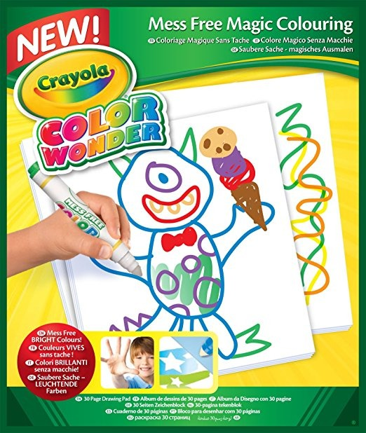 Crayola Color Wonder Papel De Dibujo-30 Hojas - $ 1,092.05 en ...