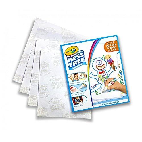 Crayola Color Wonder Papel De Dibujo, 90 Hojas, Incluido Co ...