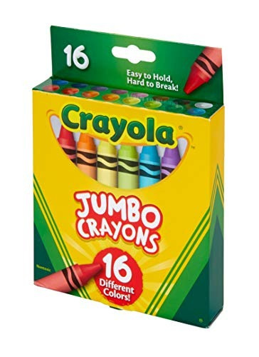 crayola crayolas jumbo 16 conteo