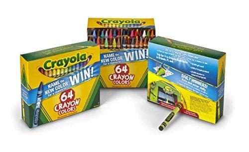 Crayola Crayons 64 Count (juego De 3), Lápices De Colores ...