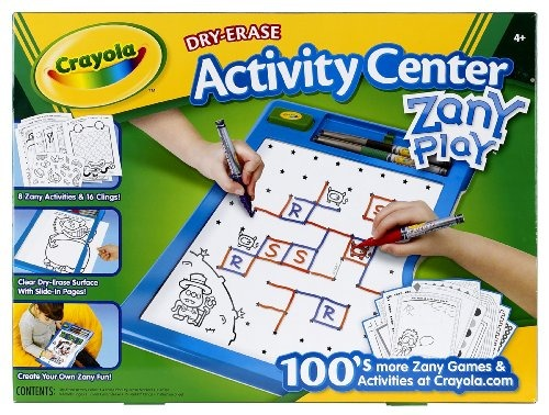 Crayola De Borrado En Seco Centro De Actividades Zany Juego ...