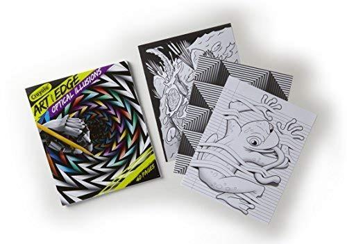 Crayola Ilusiones Ópticas Libro Para Colorear - $ 716.00 en Mercado ...