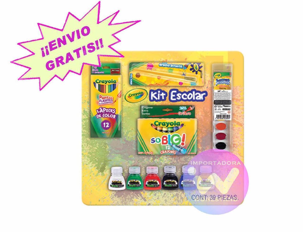 Crayola Kit Preescolar 39 Piezas - $ 379.00 en Mercado Libre