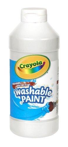 crayola lavable pintura blanca 16 oz