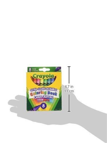 Crayola Lavables Libro De Colorante Creyones-8 / Paquete - $ 476,97 ...