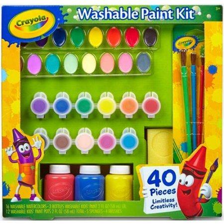 Crayola Lavables Niños Pintar Set De Actividades - $ 1,345.44 en ...