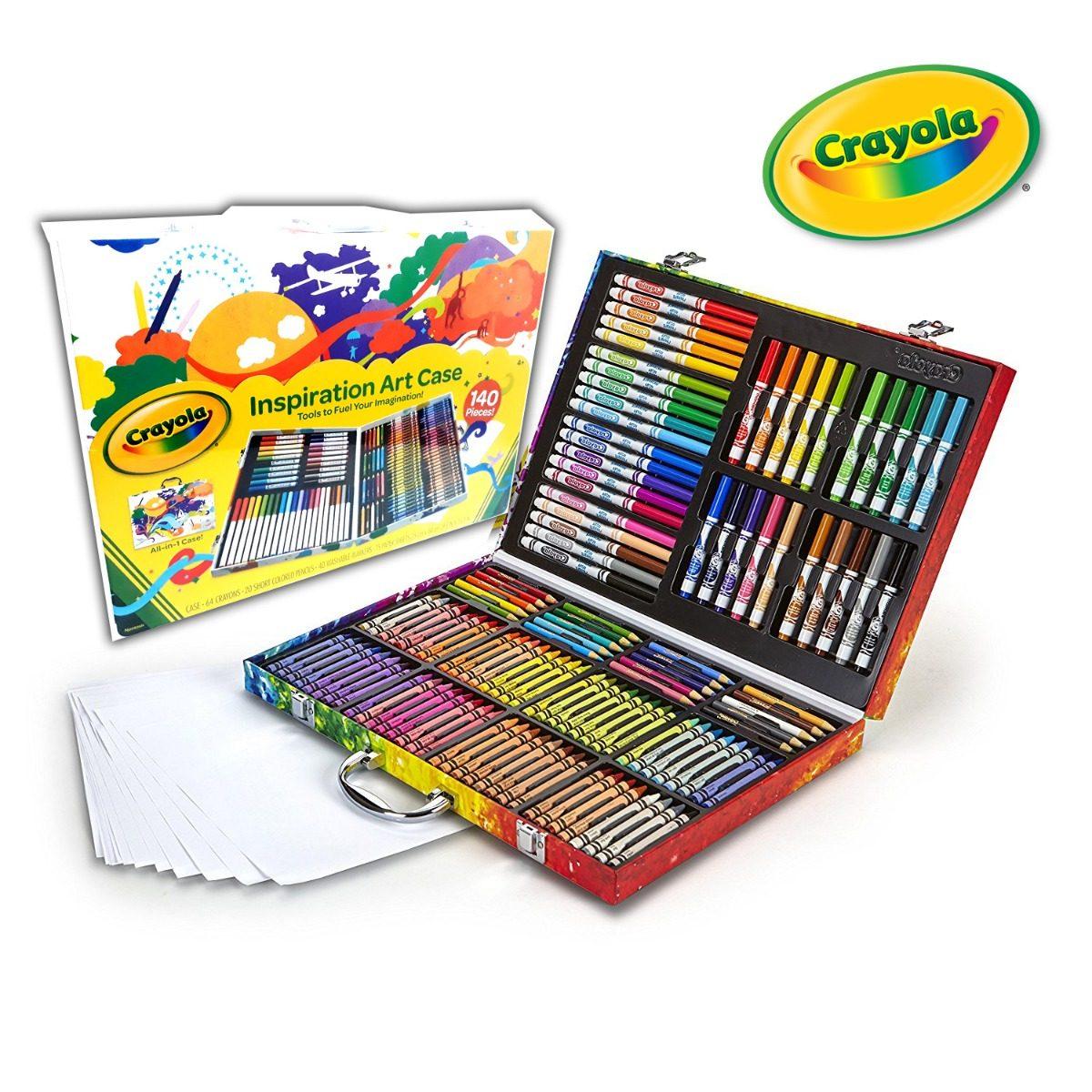 Crayola Maletin Inspiration Art Case Set 140 Pz Envio Gratis ...