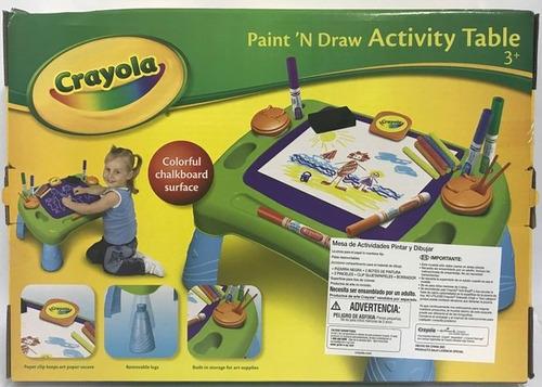 Crayola Mesa De Actividades Pinta Y Disena 5079 - $ 1.320,00 en ...