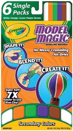 Crayola Model Magic Single Packs Secundaria Colores 77800 En
