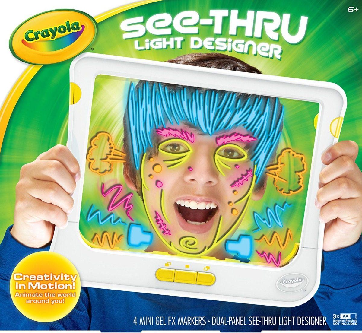 Crayola See Thru Luz Diseñador (74 ¿ 7051) - $ 25.000 en Mercado Libre