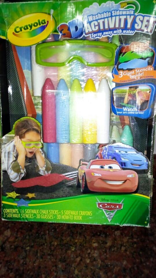 Crayola Set De Actividades De Tizas Lavables 3d - Bs. 78.000.000,00 ...
