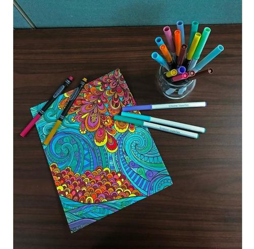 crayola super tips 100piezas marcadores plumones lavables
