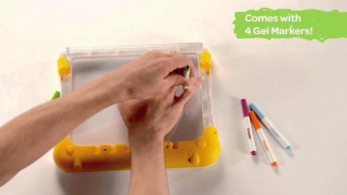 crayola tablero de luz - see thru light designer