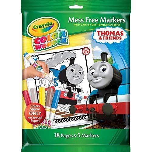 Crayola Thomas & Friends Color Wonder Mess Páginas Y... - $ 27.990 ...