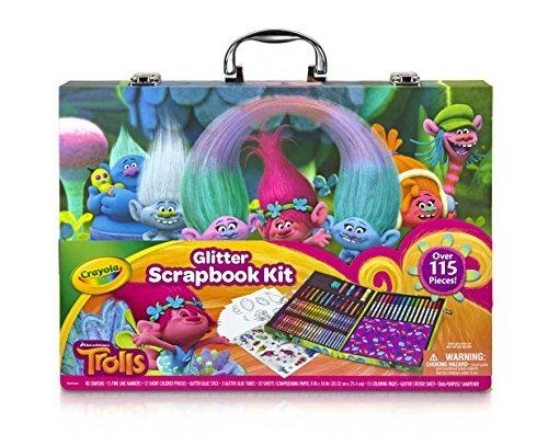 Crayola; Trols Glitter Scrapbook Kit; Actividades De Arte H ...