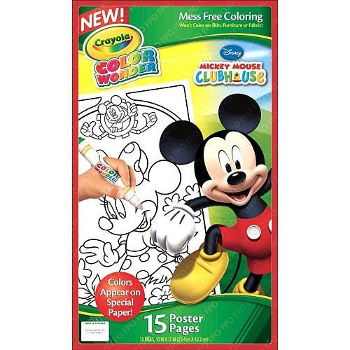 Crayola Wonder Mickey Mouse Cartel Páginas - $ 1,490.56 en Mercado Libre