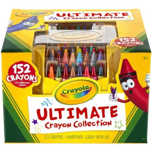 crayones crayola ultimate caso, 152-crayones