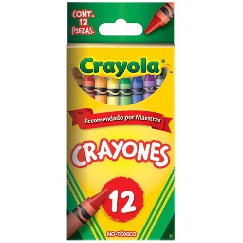 crayones estándar 9.21x.7.9 cm 12pz cra-cra-523012