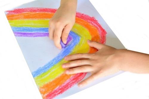 crayones pastas x8 estimulacion motricidad fina cera de soja