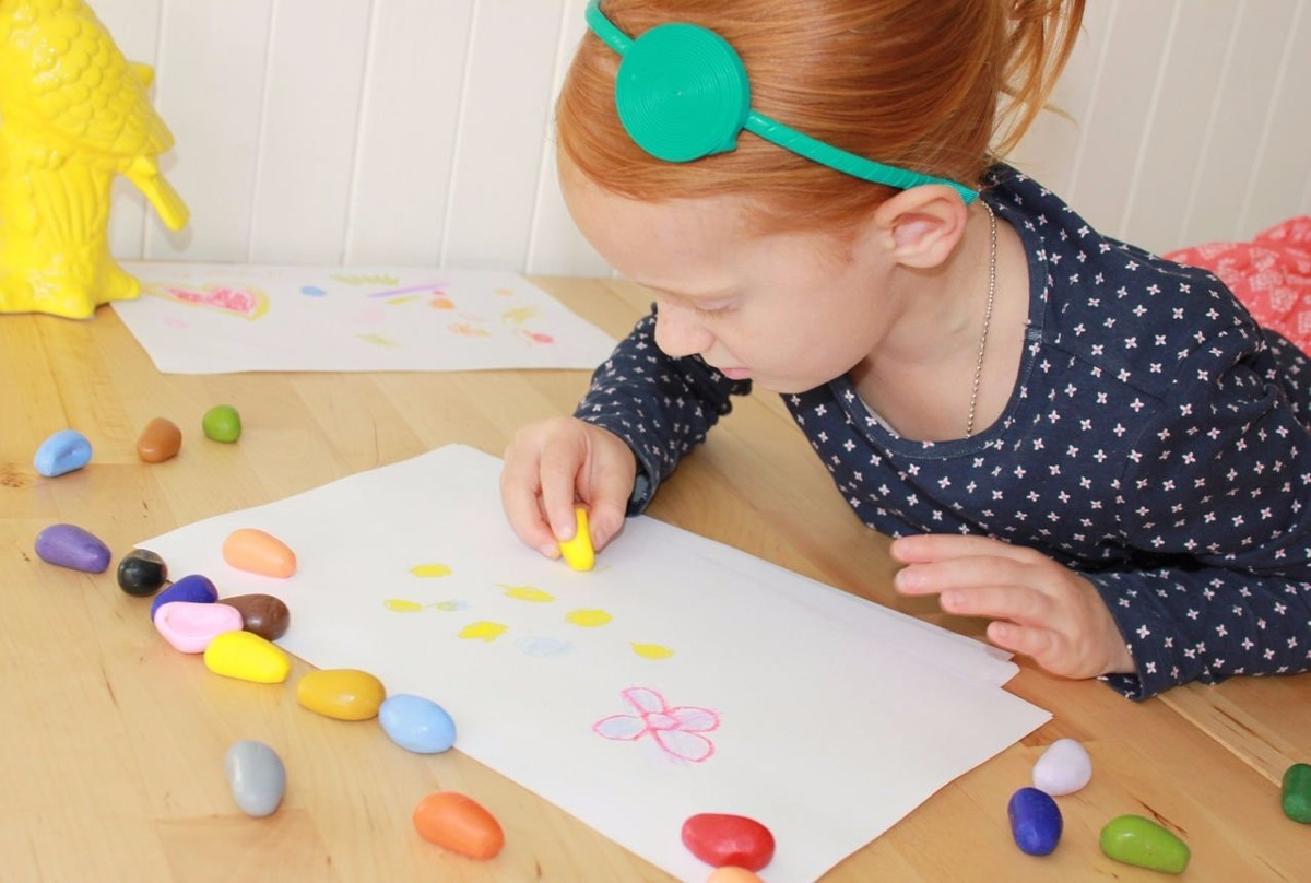 Crayones Pintar Cera Escolar Lapices Colores Niños Niñas - $ 350,00 ...