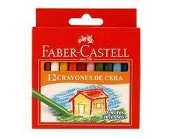 crayones x 12 colores faber castell quality x 12 cajitas