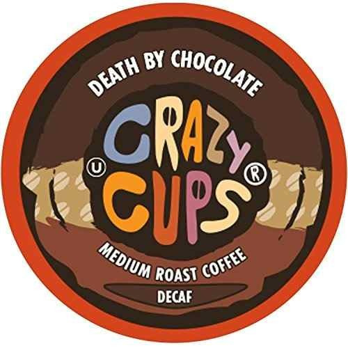 crazy cups con sabor a café, decaf death by chocolate, !