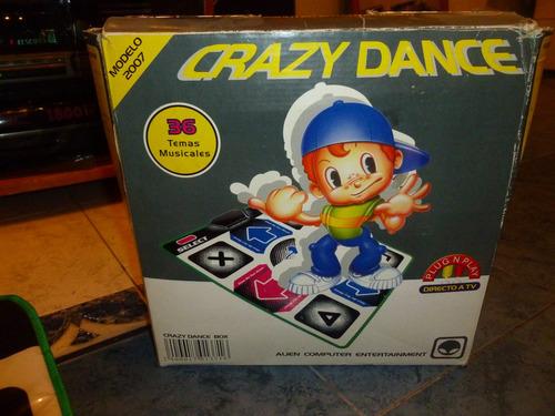 crazy dance, alfombra con 36 temas musicales